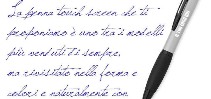 penna inchiostro blu regalo LOGO