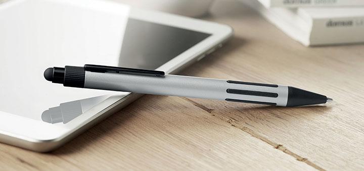 penna regalo metallo touch-screen