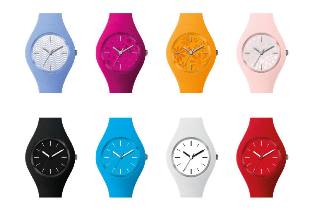 orologio in silicone gadget