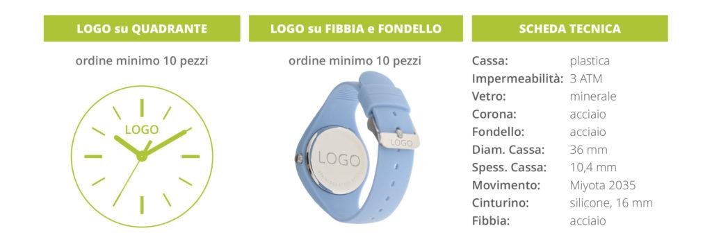 orologio in silicone personalizzato LOGO