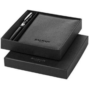 BALMAIN Set regalo penne con portafoglio