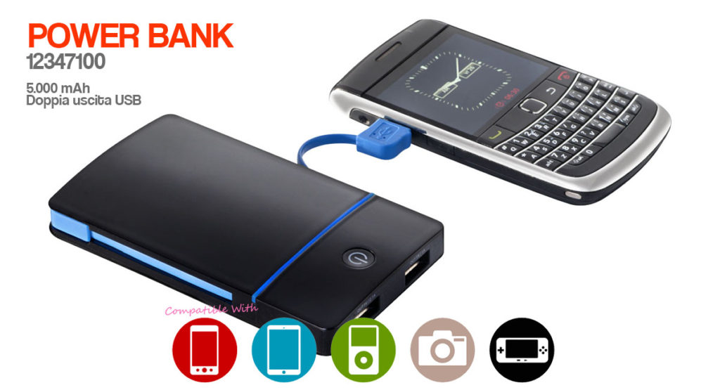 power bank LOGO 12347100