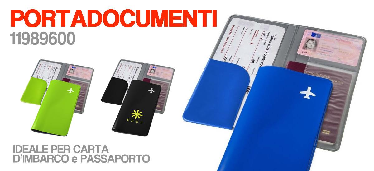 Porta documenti da viaggio PERSONALIZZABILE CON LOGO
