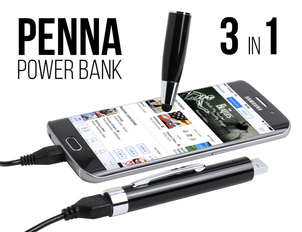 PENNA CON POWERBANK