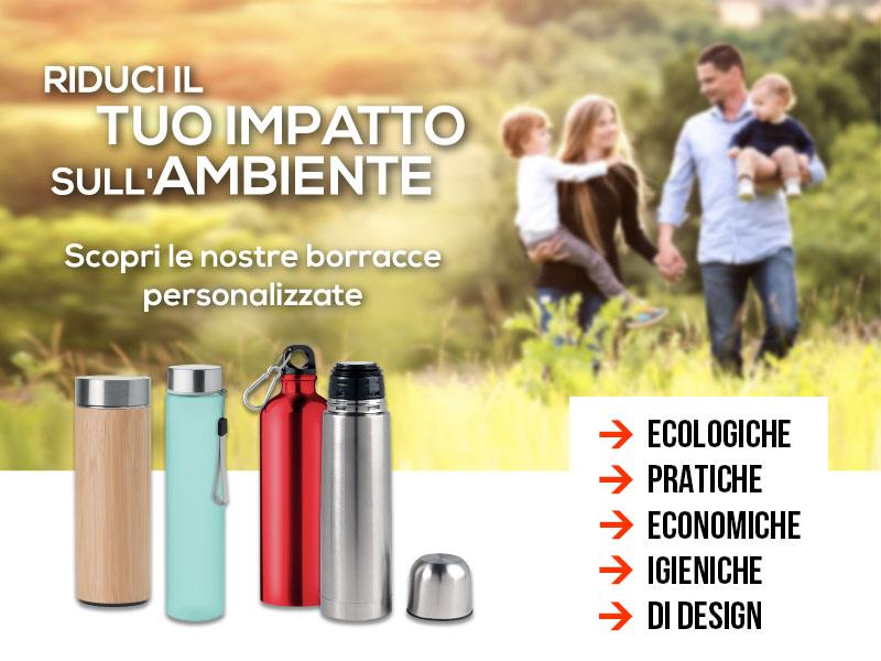 Borracce, ecologiche, pratiche, economiche, igieniche e di design